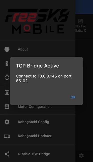 TCP Bridge Active