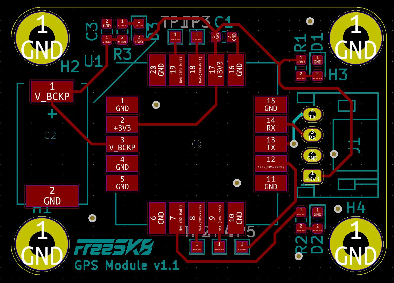 GPS Module PCB X-Ray